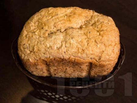 Белгийски хляб с меласа за хлебопекарна - снимка на рецептата